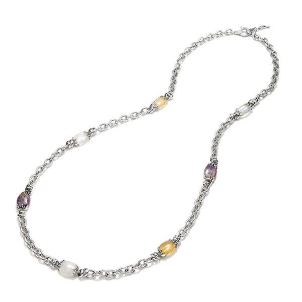 Collana Longuette Gocce in argento